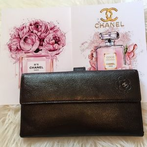 Authentic Chanel wallets, caviar leather!